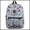 Gundam Backpack: All Over Sublimated Print