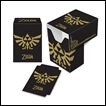 Ultra Pro Character Deck Box: The Legend of Zelda: Black & Gold