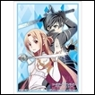 Bushiroad Deck Protector Sleeves: Sword Art Online the Movie: Ordinal Scale: Kirito & Asuna