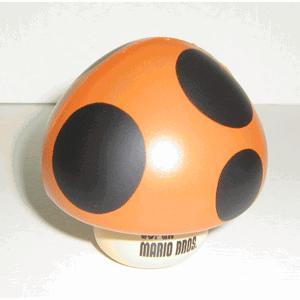 Super Mario Bros Gashapon Stress Balls Poison Mushroom Clearance