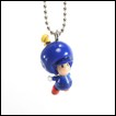 Nintendo Gashapon: New Super Mario Bros.: Wii Mascot Charms: Blue Toad
