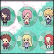 Tales of Friends Trading Figures: Gel Strap Collection Series 2
