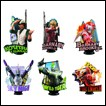 Tiger & Bunny Trading Figures: Chess Piece R Collection
