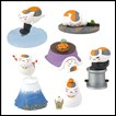 Natsume's Book of Friends Gashapon: Nyanko-Sensei Figure Eye Catch Collection