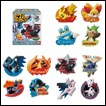 Pokemon Trading Figures: Wall Badge Collection