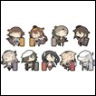Kantai Collection Trading Figures: Rubber Strap Collection