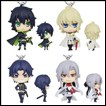 Seraph of the End Gashapon: Deformed Mini Mascots