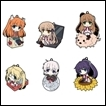 Rewrite Trading Figures: CharaRIDE Rubber Strap