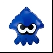 Splatoon Gashapon: Squid Air Mascot Part 2: Blue