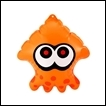 Splatoon Gashapon: Squid Air Mascot Part 2: Orange Squid