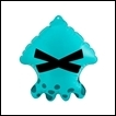 Splatoon Gashapon: Squid Air Mascot Part 2: Turquoise Squid