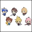Final Fantasy Trading Figures: Trading Rubber Strap