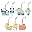 Yuri on Ice Trading Figures: Sanrio Rubber Strap Collection
