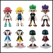 Splatoon Trading Figures: Gear Collection