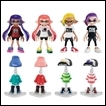 Splatoon Trading Figures: Gear Collection Part.2