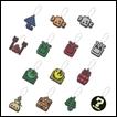 Monster Hunter Trading Figures: Item Icon Rubber Mascot Collection