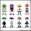 Splatoon Trading Figures: Gear Collection Part.3