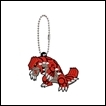 Pokemon Gashapon: Rubber Mascot Series 8: Groudon