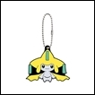 Pokemon Gashapon: Rubber Mascot Series 8: Jiirachi