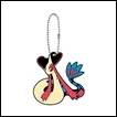 Pokemon Gashapon: Rubber Mascot Series 8: Milotic