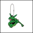 Pokemon Gashapon: Rubber Mascot Series 8: Rayquaza