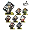 Persona 4 Trading Figures: Trading Acrylic Stand
