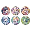 Touhou Project Trading Figures: Trading Tin Badge -Kinkasai Petit-