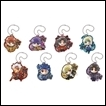 Fate/Stay Night Trading Figures: Heaven's Feel Pita! Deforme Acrylic Keychain Vol.2