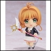 Cardcaptor Sakura Clear Card Figure: Nendoroid Sakura Kinomoto (Tomoeda Junior High Uniform Ver.)