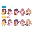 BanG Dream! Girls Band Party Trading Figures: Mugyutto Rubber Strap Poppin Party