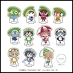 Sgt. Frog Trading Figures: Acrylic Petite Stand (Rainy Season Version)