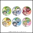 Sgt. Frog Trading Figures: Tin Badge (Rainy Season Version)