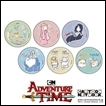 Adventure Time Trading Figures: Graff Art Tin Badge
