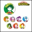 My Hero Academia Trading Figure: Tin Badge Color Palette Ver.