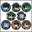 Psycho Pass Trading Figures: Sinners of the System Tin Badge