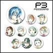 Persona 3 Trading Figures: Ani-Art Tin Badge