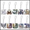 Monster Hunter Trading Figures: Iceborne Monster Icon Stained Mascot Collection