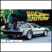 Aoshima Model: Back to the Future 1/24 Delorean From Part I