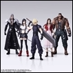 Final Fantasy VII Trading Figures: REMAKE Trading Art
