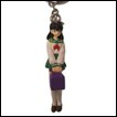 Inu Yasha Figure Keychain: Kagome With Backpack