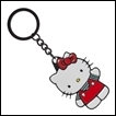 Hello Kitty Keychain: Metal