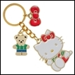 Hello Kitty Keychain: Multi Charm