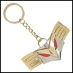 My Hero Academia Keychain: All Might Buckle