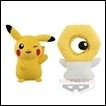 Pokemon Plush Sun & Moon DX Series: Pikachu & Meltan