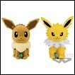 Pokemon Plush Sun & Moon DX Series: Eevee & Jolteon