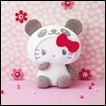 Hello Kitty Plush: Panda