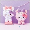 Hello Kitty Plush: Fluffy Pearl