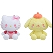 Sanrio Plush: Hello Kitty & Pom Pom Purin (Yurukawa)