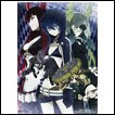 Black Rock Shooter Wall Scroll: Black Rock Shooter, Dead Master