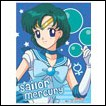 Sailor Moon Wall Scroll: Sailor Mercury
